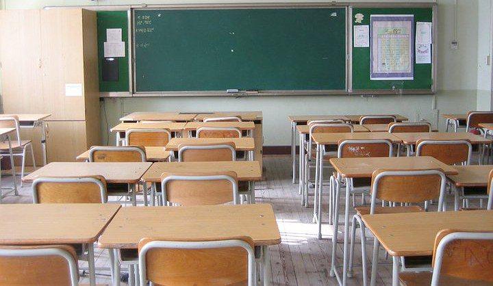 classe, banchi vuoti a scuola
