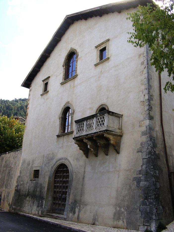 Tagliacozzo, siglato il Masterplan. Accordo tra Regione e Comune per il restauro di palazzo Ducale