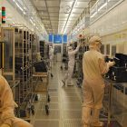 micron clean room  LFoundry cleanroom