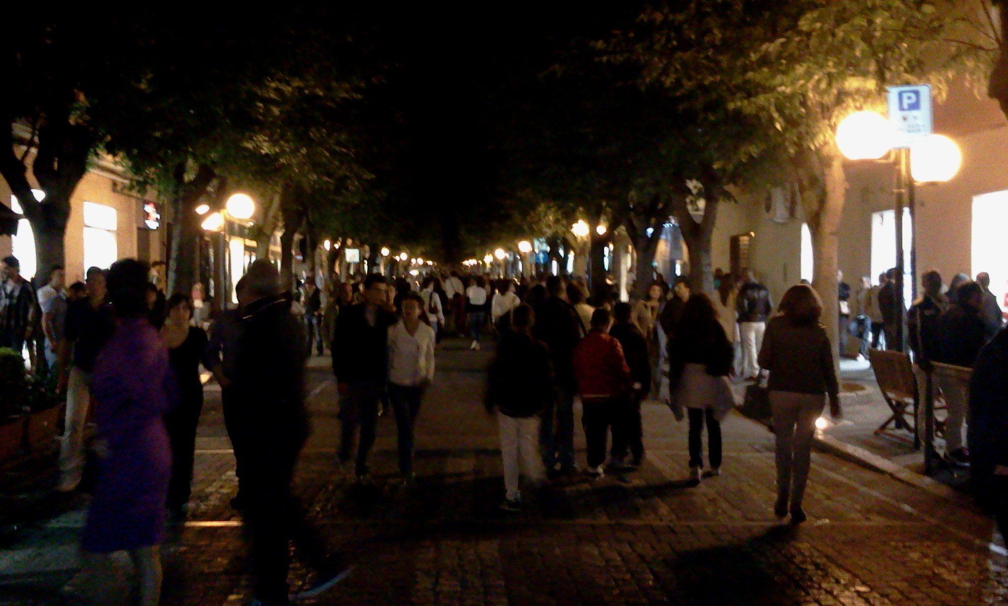 Notte di via Avezzano