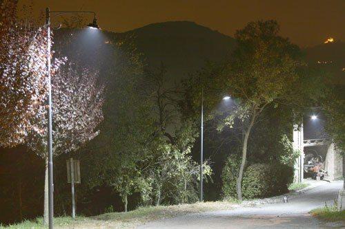 Illuminazione a led nel centro storico e in piazza Obelisco, prove ...
