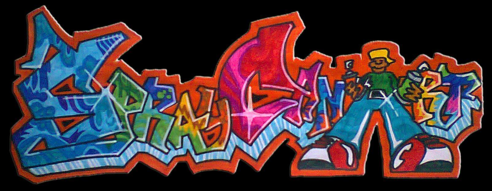 Writers in azione in via albense il sottopasso diventa for Immagini di murales e graffiti