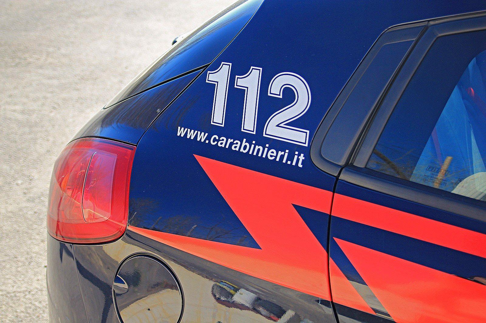gazzella 112 carabinieri