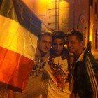 Festeggiamenti per la vittoria della nazionale di calcio contro la Germania (19)