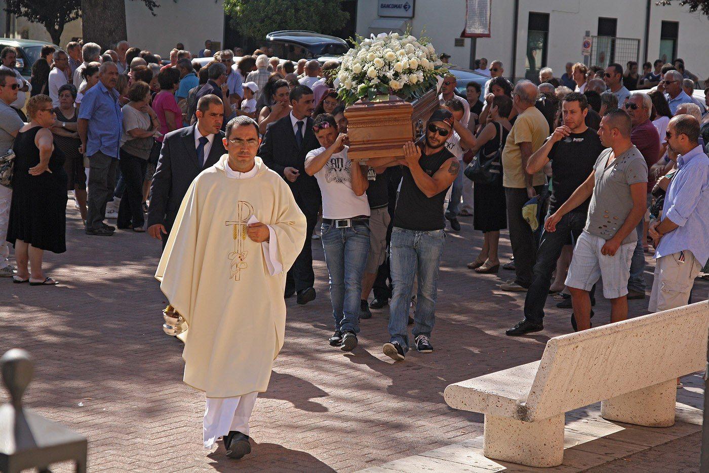 Funerali Carmine Frezza Carsoli. (3)