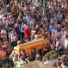 Funerali a carsoli del giovane morto in un incidente a Roma (2)