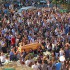 Funerali a carsoli del giovane morto in un incidente a Roma (3)