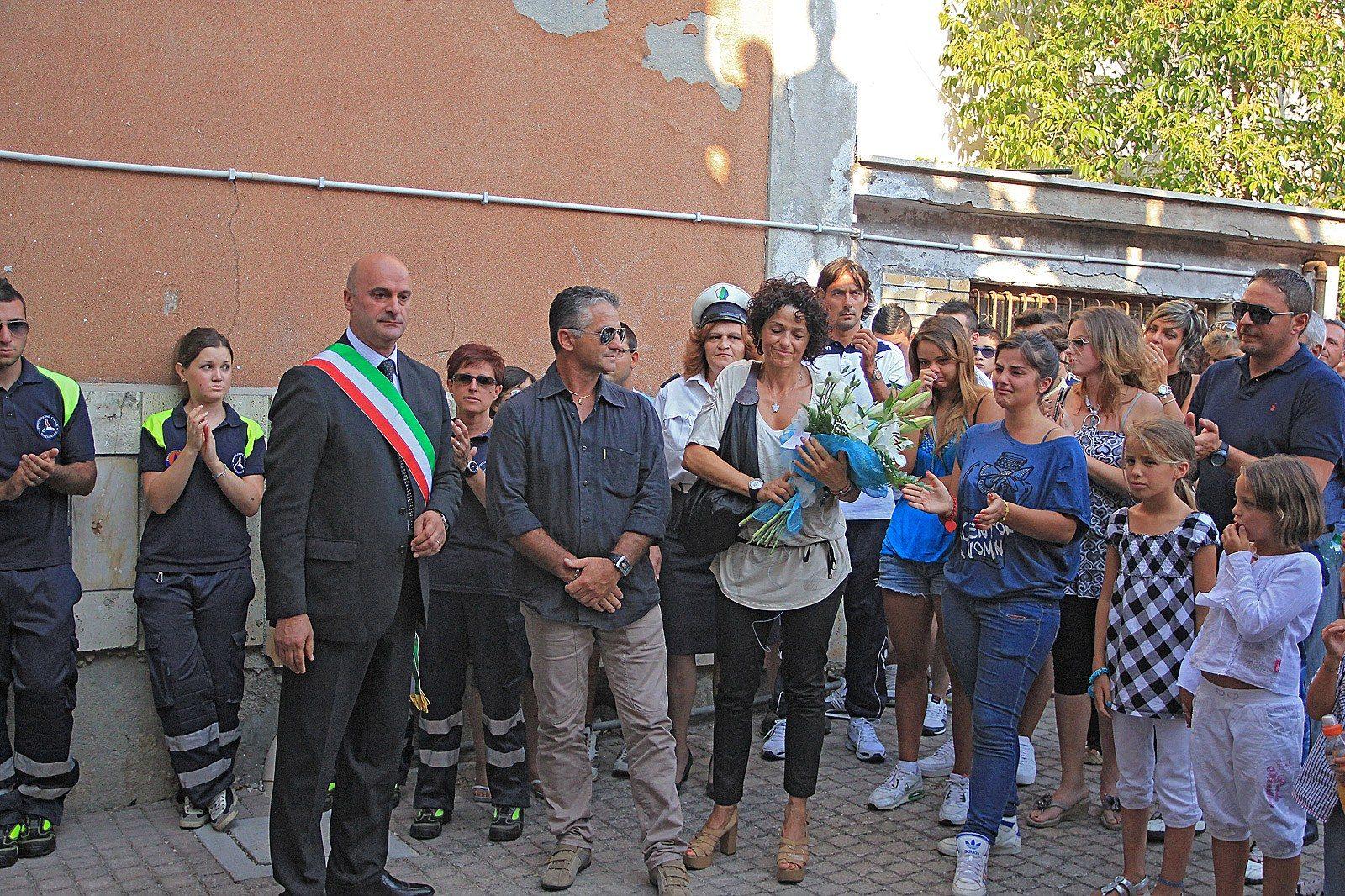 Intitolazione a Mirko Ferzini della Lazio di una palestra a Sante Marie (3)
