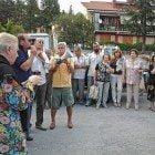 Manifestazione ospedale Tagliacozzo agosto