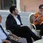 franco marini e andrea orlando intervistati nel dibattito diretto da eleonora berardinetti