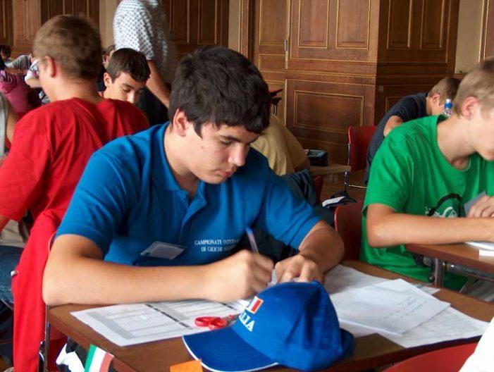 Fitness della matematica, 530 ragazzi marsicani alle prese con giochi e test