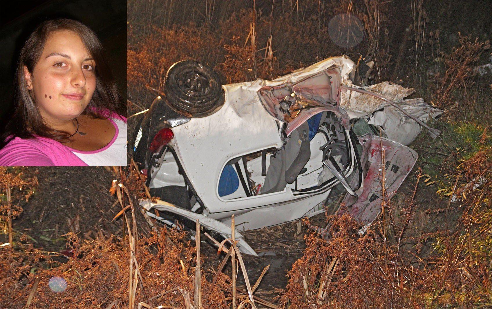 Miriam Di Carlo, incidente mortale ad Antrosano
