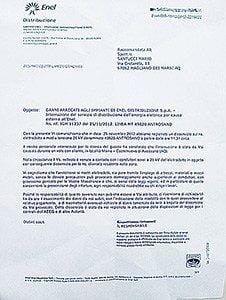 Accusato di aver tranciato i cavi enel con l 39 aereo ma - Enel richiesta interramento linea ...