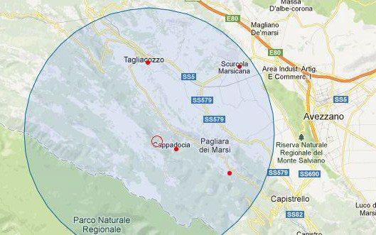 Scossa sismica di magnitudo 2.4 nella Marsica occidentale avvertita dalla popolazione