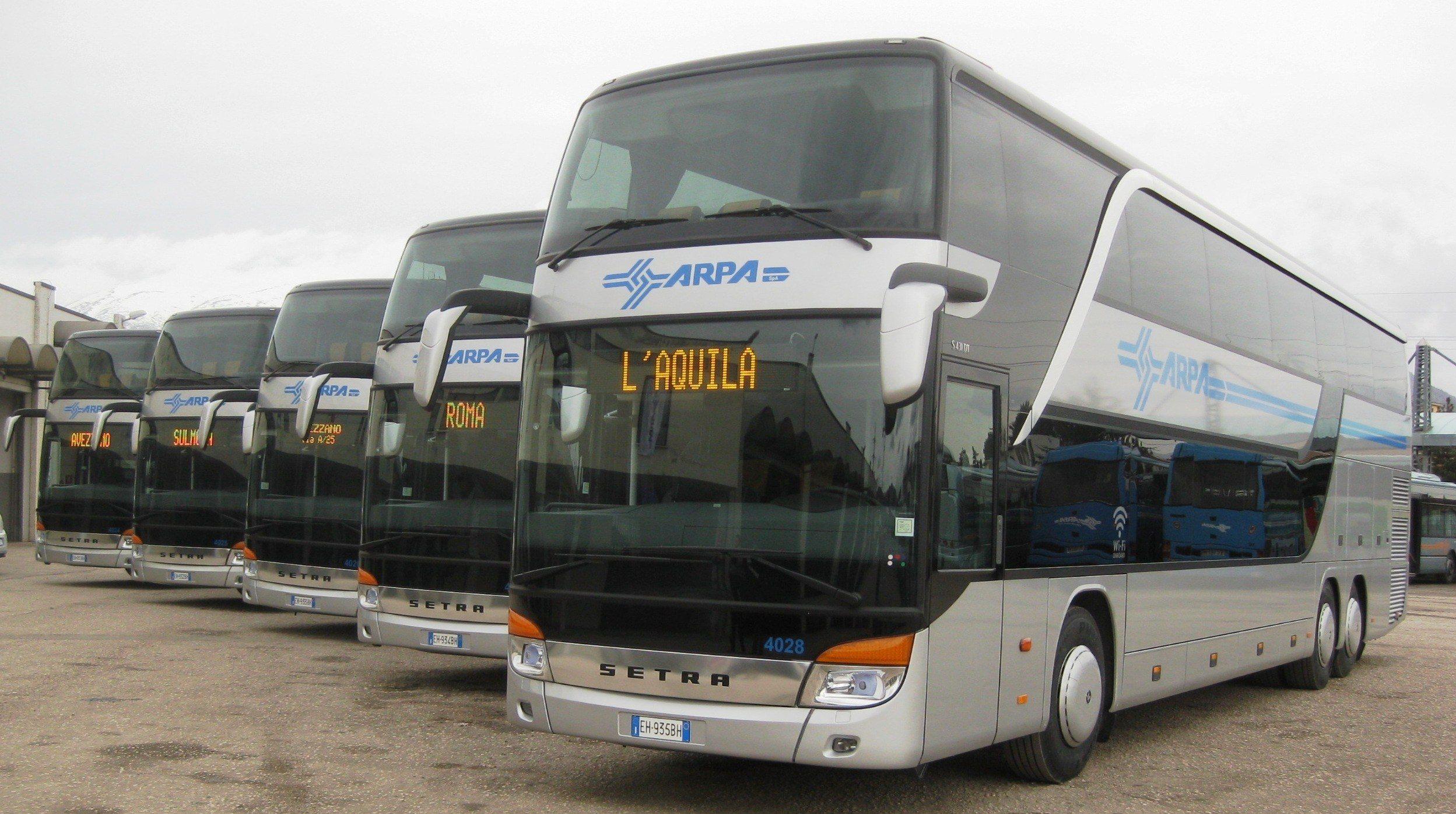 Arrivano cinque nuovi bus a due piani saranno a for Piani a due piani in florida
