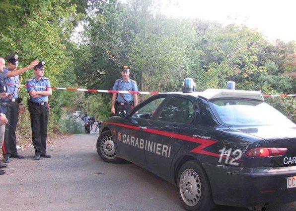 Carabinieri intervento