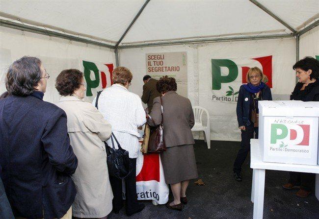 Primarie partito democratico seggi aperti dalle 8 in for Elenco parlamentari pd