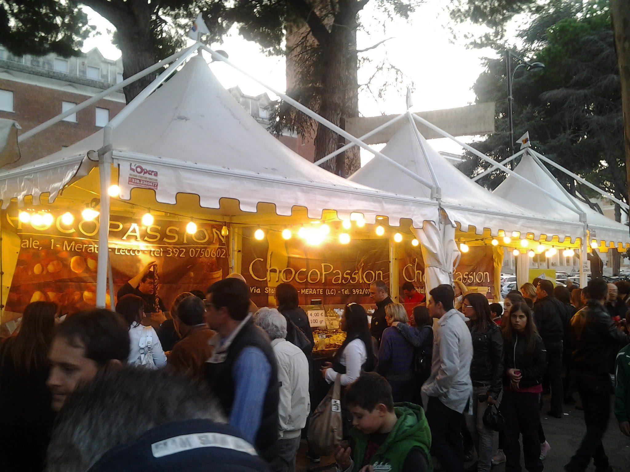 Festa del Cioccolato stand Choco Passion