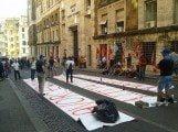 Cartiera manifestazione Roma 4