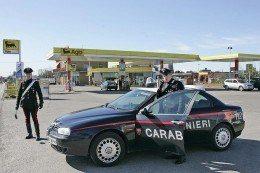 autogrill agip carabinieri distributori