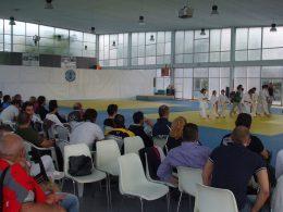 Pala Winner Team  affollato per i campionati regionali Esordienti A di karate