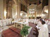 Apertura anno pastorale sacerdoti parroci vescovo Pietro Santoro in cattedrale ad Avezzano (4)