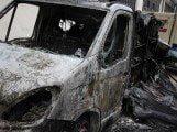 Bofrost camion incendiato con dolo ad Avezzano (1)