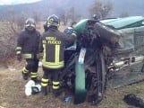 incidente trasacco collelongo ambulanza carabinieri vigili del fuoco (6)