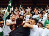 Festa dei tifosi dell'Avezzano Calcio