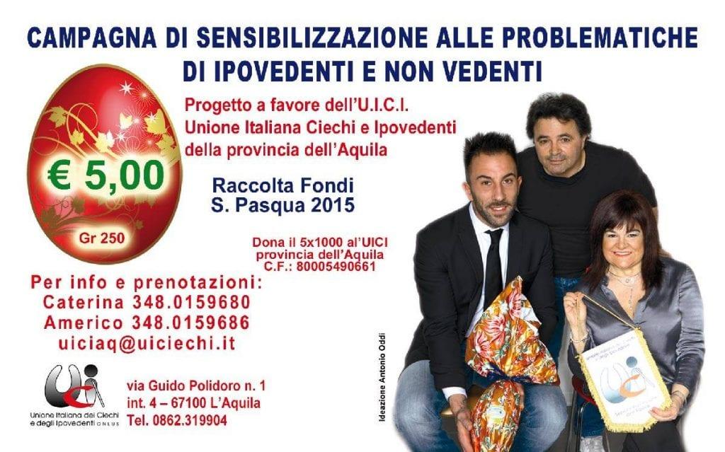 Vendute 6mila uova per l 39 unione italiana ciechi tre for Ciechi in italia