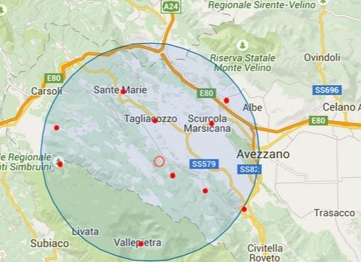 Terremoto, scossa sismica marsica occidentale