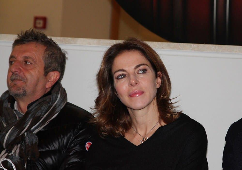 Claudia Gerini ad Avezzano per lo spettacolo al teatro dei Marsi (9)