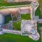 Castello di Ortucchio dall'alto - Foto di DroneDM https://www.facebook.com/droneDM/