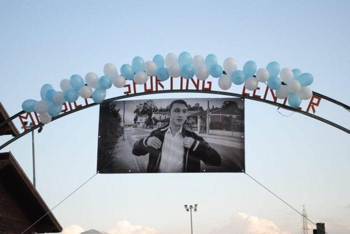 3° Memorial in onore del giovane Filippo Iafolla, amici e parenti commossi in campo