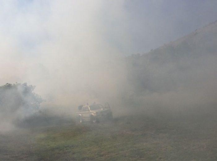 Nuovo incendio a Tagliacozzo, ancora dolo. Repentino intervento dei soccorsi sventa la minaccia