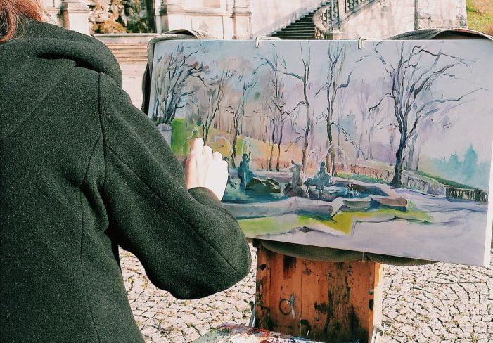 Tutto pronto per la 13° estemporanea di pittura  Santa Croce a Canistro, prevista collettiva contemporanea