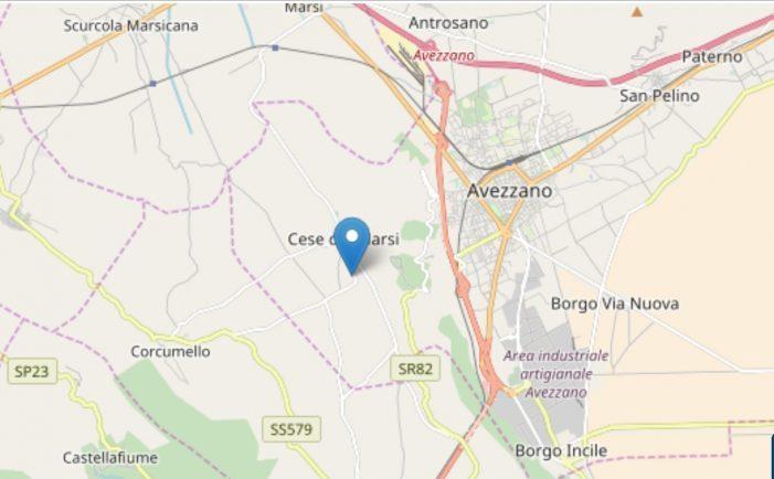 La terra trema, scossa di terremoto nella notte tra Avezzano, Capistrello e Castellafiume