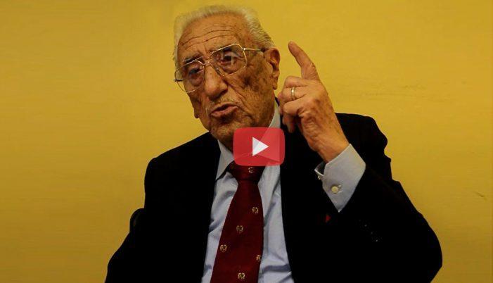 Oggi Spallone avrebbe compiuto cento anni, ecco l'ultima intervista dell'indimenticabile sindaco (Video)