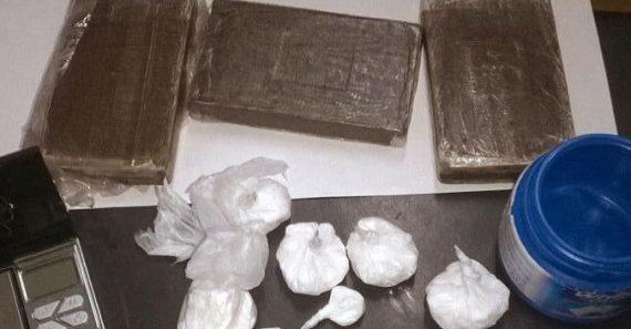 Trovato il grossista della droga nel Fucino, sequestrati hashish e cocaina. Arrestato il complice