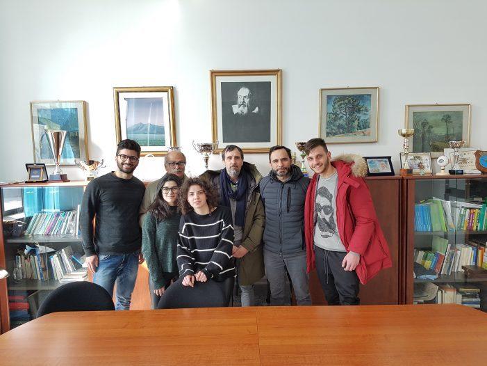 Tour della Provincia nelle scuole, il consigliere Alfonsi all'Istituto Galilei di Avezzano per esaminare le criticità