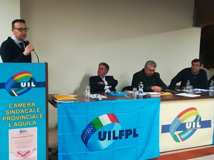 Rinnovo rsu alla Asl 1 Avezzano Sulmona L'Aquila, la Uil Fpl si afferma come primo sindacato
