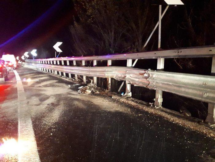 Incidente A24 tra Carsoli e Vicovaro, morto il conducente della Punto schiantata contro il guardrail