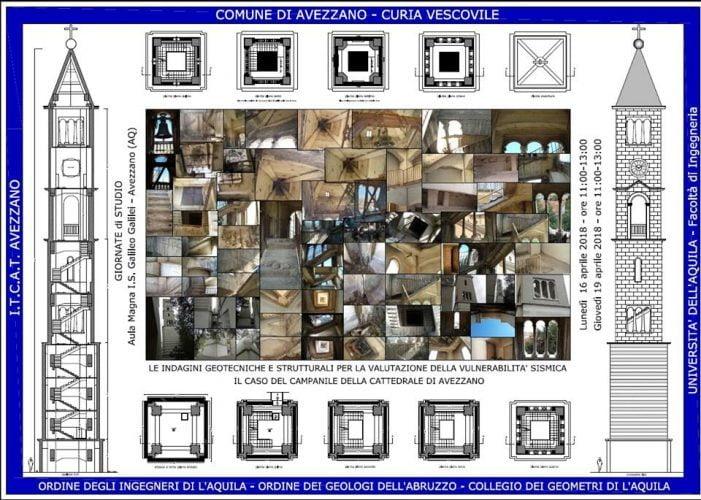 Vulnerabilità sismica, due giornate con l'IIS Galilei per esaminare la città di Avezzano