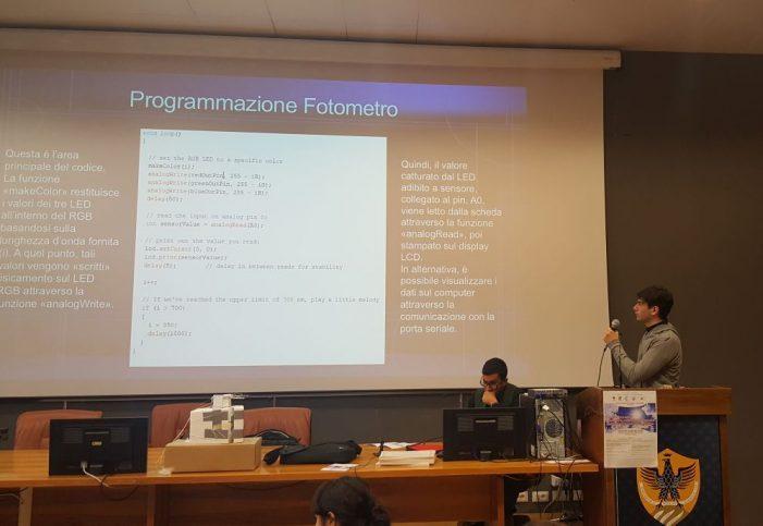 Studente del Majorana di Avezzano partecipa da protagonista a un convegno di scienziati