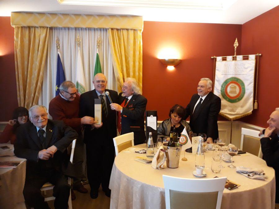 Cena degli auguri a san miniato con accademia italiana della cucina