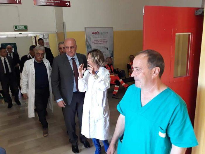 """Ospedale in tilt, blitz politico. De Angelis su tagli a Tagliacozzo e Pescina: """"agevolerebbe Avezzano"""""""