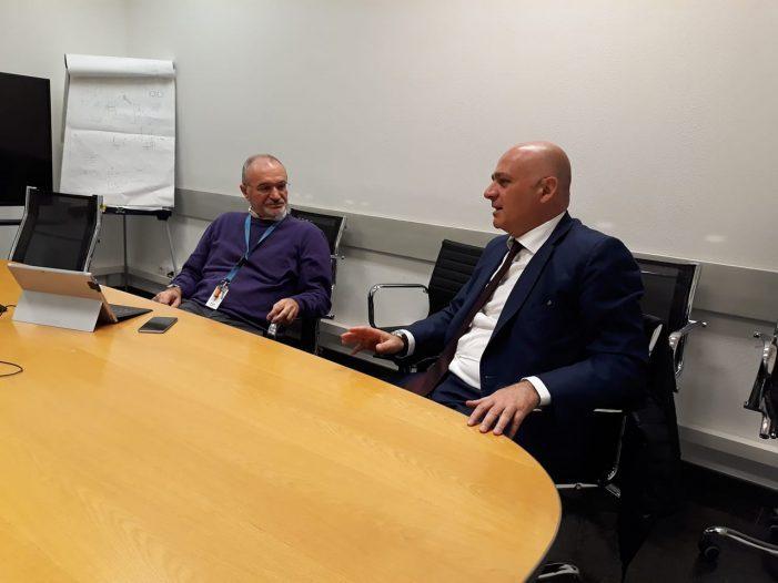"""De Angelis incontra Galbiati della LFoundry: """"confidiamo nel management"""""""