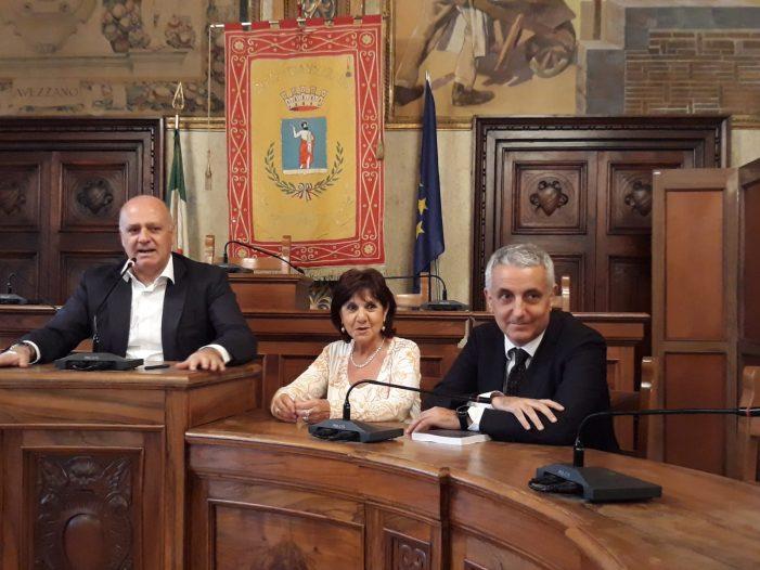 Il senatore Quaglieriello in visita al Comune di Avezzano: sarò l'ambasciatore della Marsica